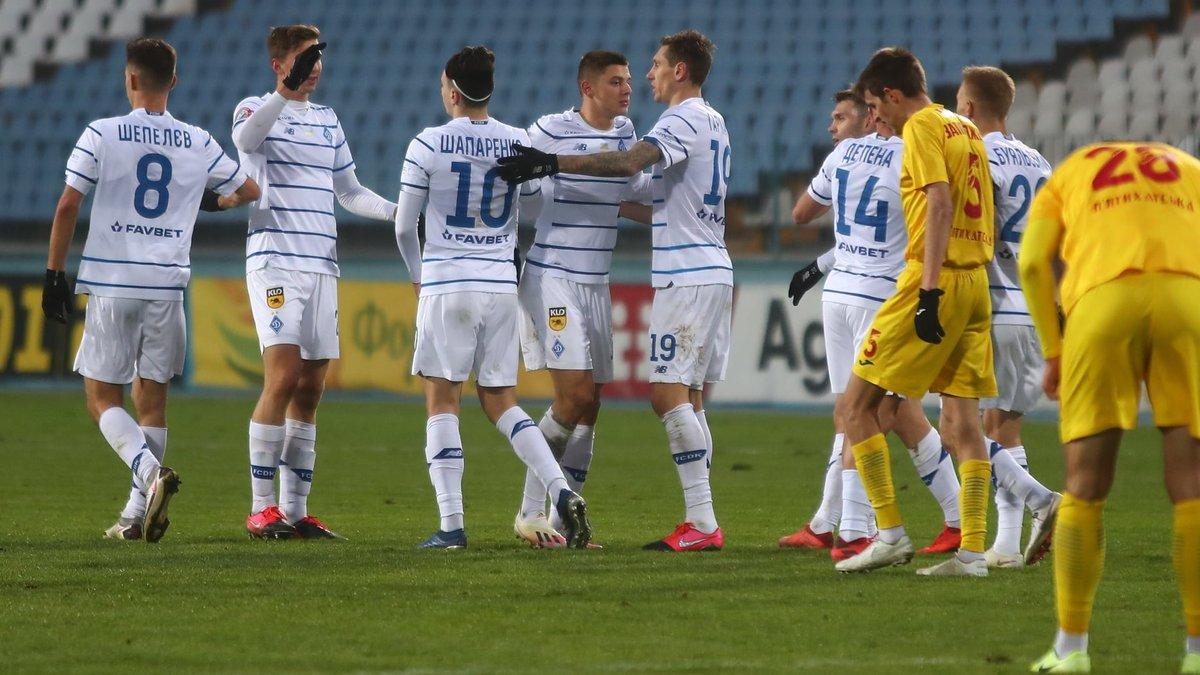 Ингулец – Динамо – 0:2 – видео голов и обзор матча
