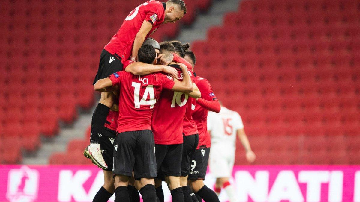 Лига наций: Словения удержала первое место в Греции, соперник Украины отдал Армении путевку в дивизион B