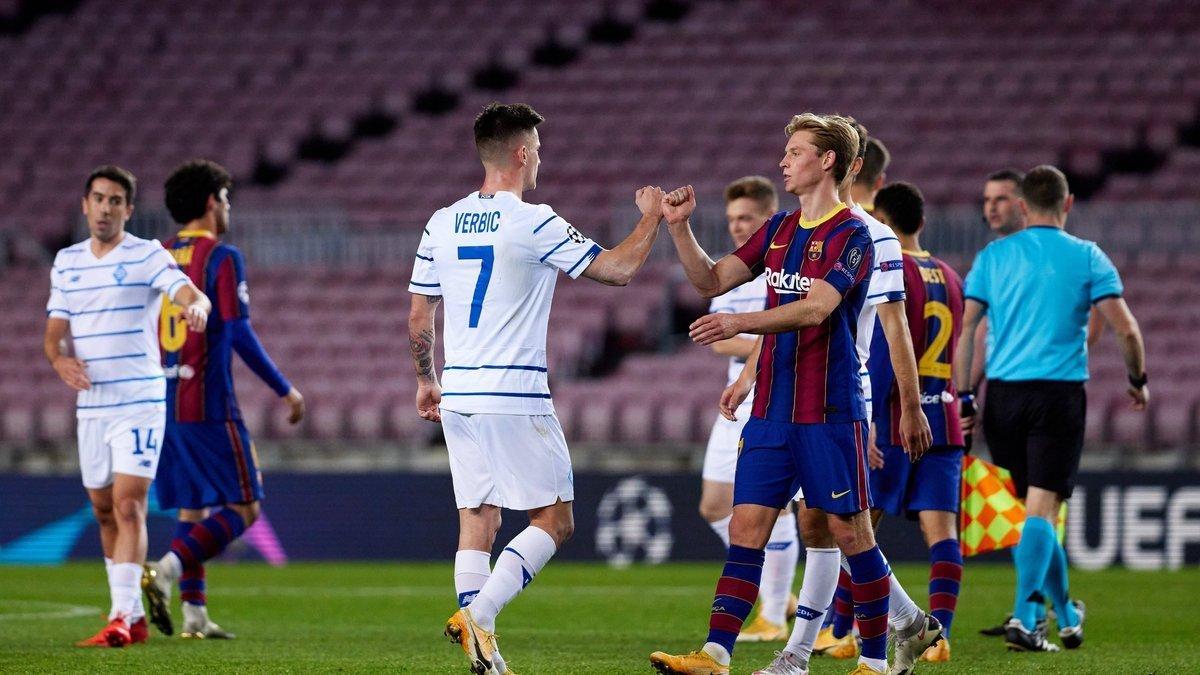 Dinamo Barselona Kievlyane Predosteregli Bolelshikov Ot Moshennikov Pered Matchem Ligi Chempionov Futbol 24