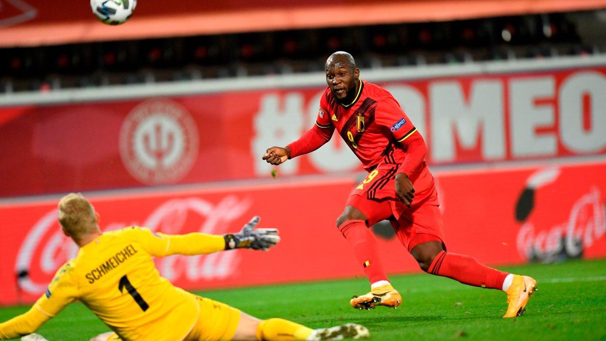 Позорная ошибка Куртуа в видеообзоре матча Бельгия – Дания – 4:2