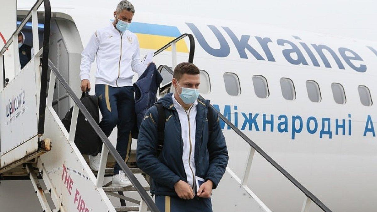Швейцарія – Україна: нові COVID-тести команди Шевченка виявилися негативними