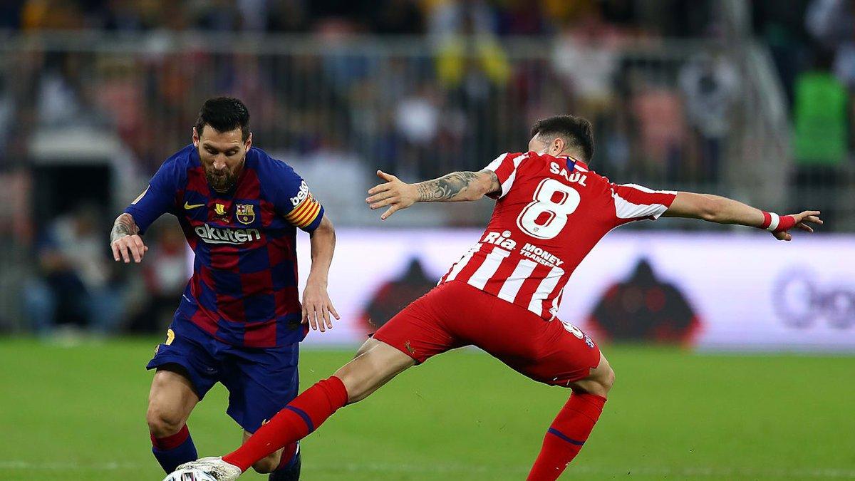 Атлетико – Барселона: онлайн-трансляция матча Ла Лиги