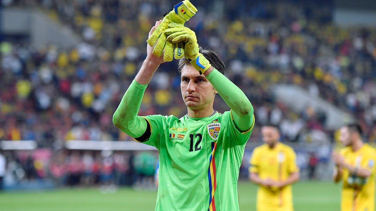 Голкипер Милана объявил о завершении карьеры в сборной Румынии