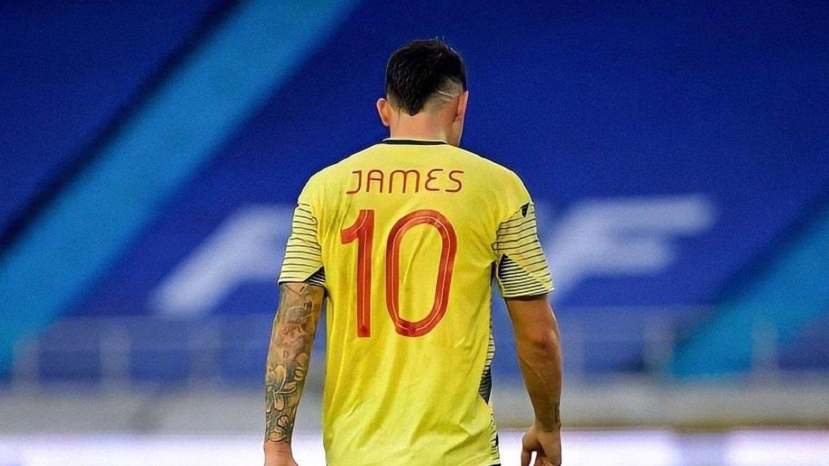 Хамес стал участником драки в раздевалке сборной Колумбии после фиаско от Эквадора
