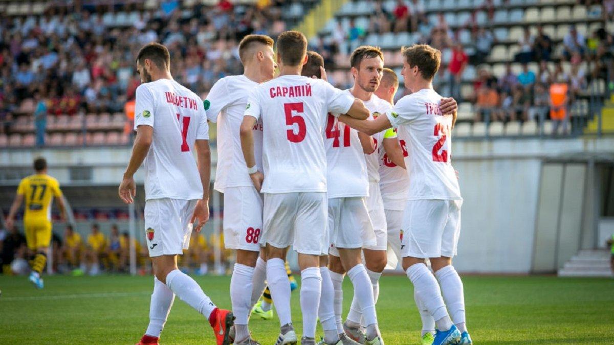 МФК Металлург минимально одолел Днепр Черкассы и вернул себе место в зоне повышения Второй лиги