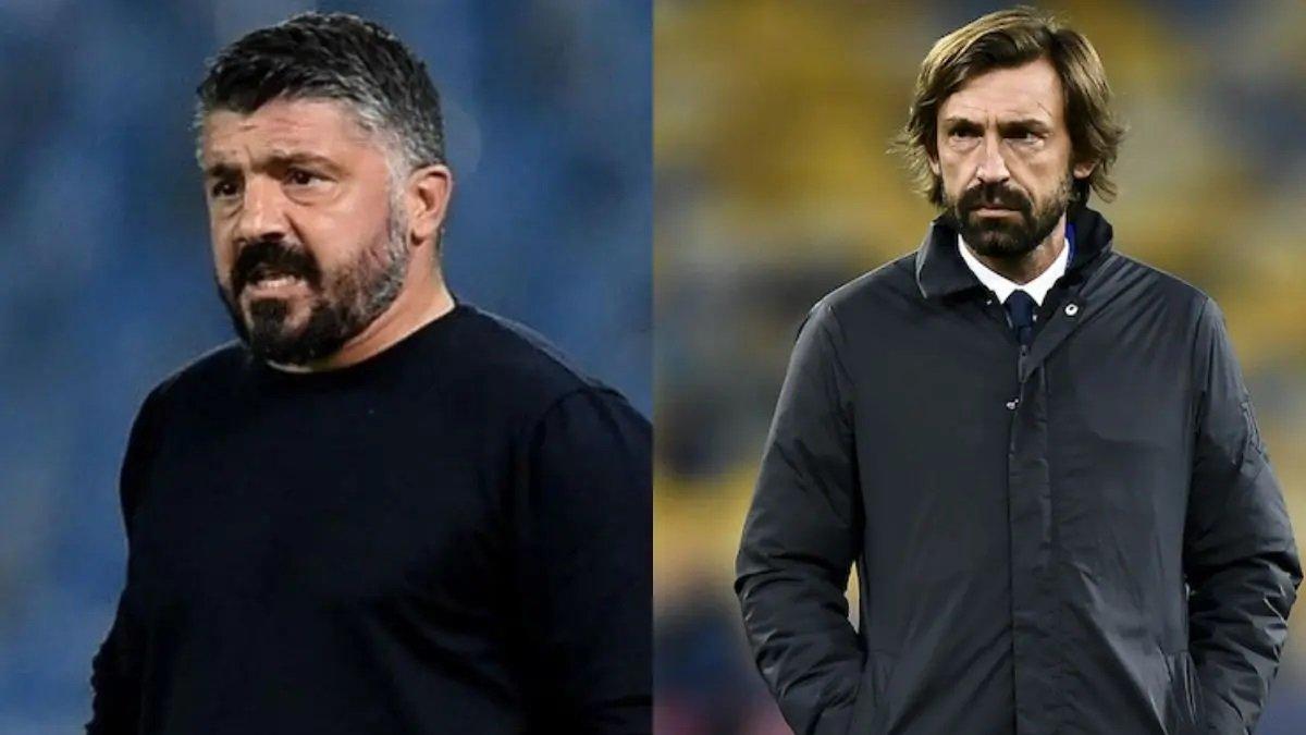 Пирло и Гаттузо проведут дебютную дуэль в январе – Суперкубок Италии разыграют в новом городе