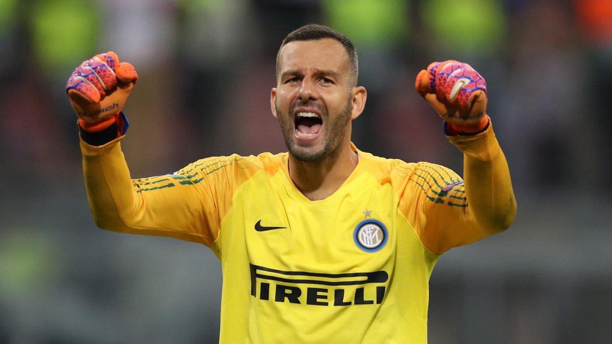 Интер продлил контракт с Хандановичем – 36-летний голкипер не планирует завершать карьеру