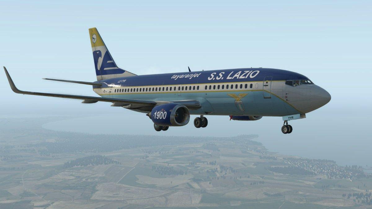 Лацио пережил неприятные минуты во время первого рейса новым самолетом – техническое состояние судна не впечатляет