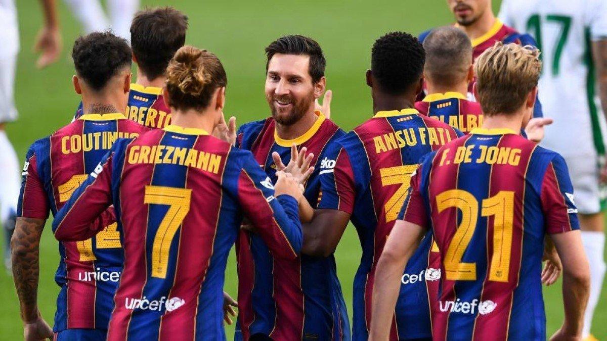 Динамо – Барселона: Месси и еще несколько звезд каталонцев не попали в заявку на матч ЛЧ