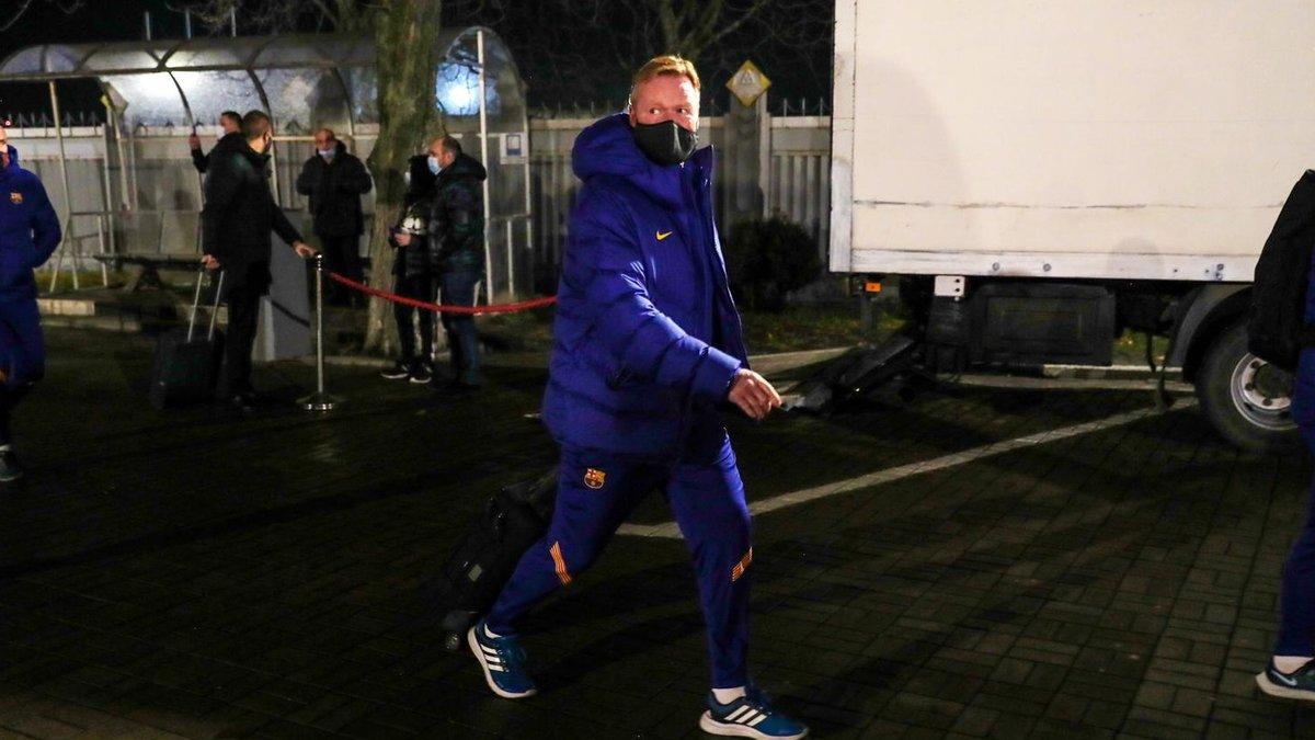 Динамо – Барселона: каталонці прибули до Києва на матч Ліги чемпіонів