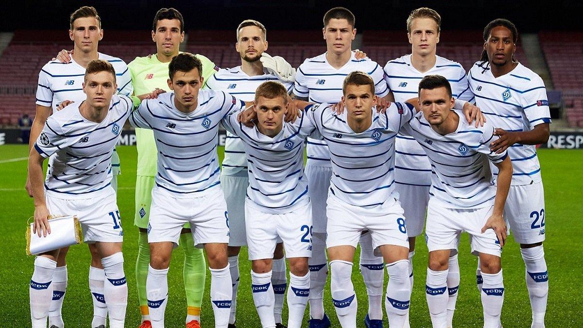 Динамо перед Барселоною дозаявило на Лігу чемпіонів двох гравців