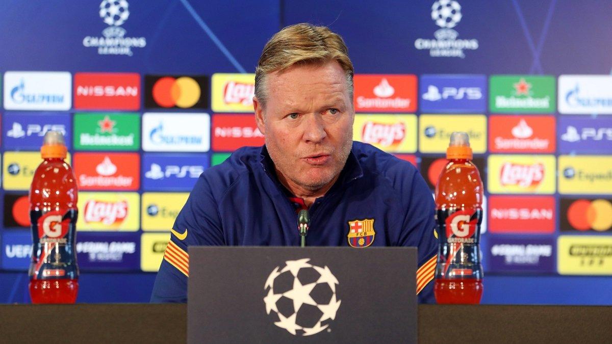 Динамо – Барселона: післяматчева прес-конференція Рональда Кумана