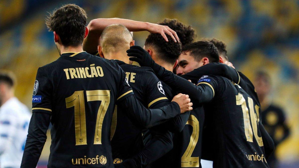 Барселона виставила на матч з Динамо наймолодший склад в ЛЧ за 9 років