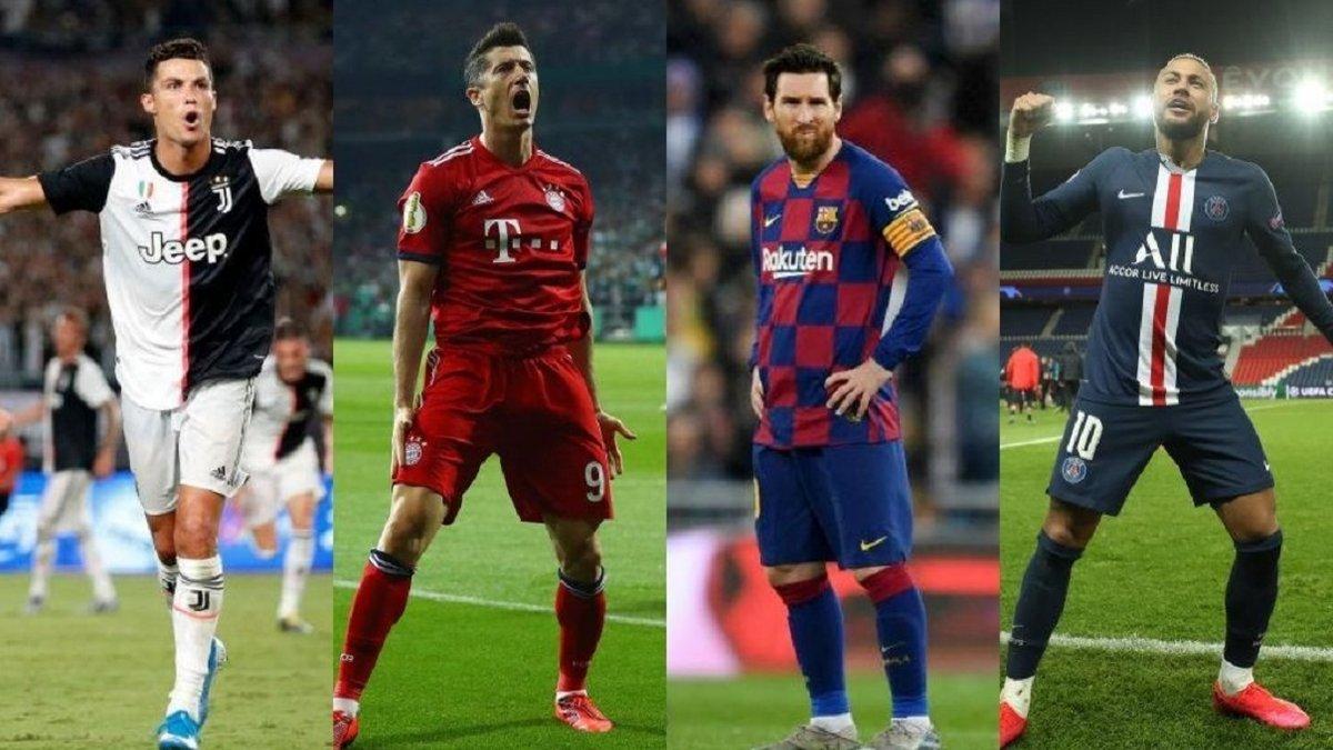ФИФА объявила 11 номинантов на премию The Best 2020