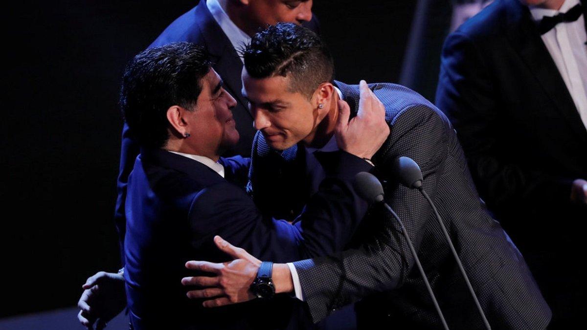 Роналду – о смерти Марадоны: Он ушел слишком рано