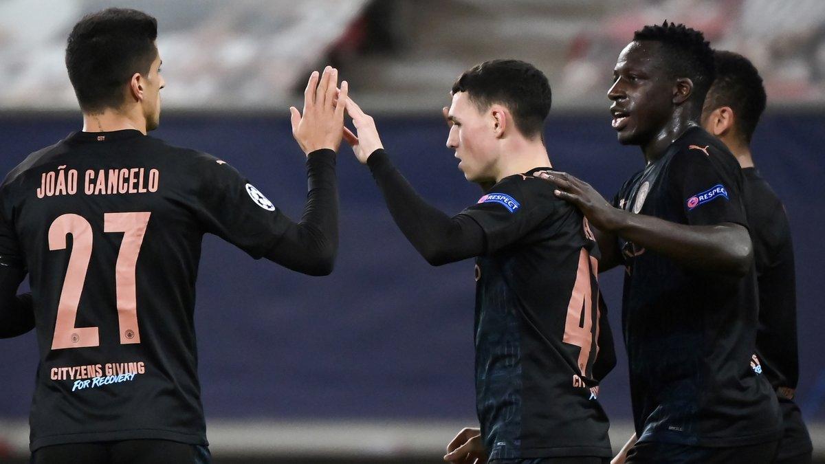 Манчестер Сити с Зинченко переиграл Олимпиакос и вышел в плей-офф Лиги чемпионов