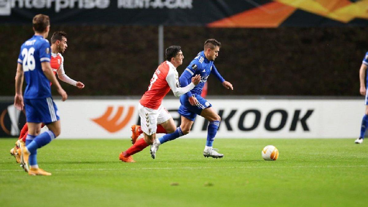 Лига Европы: Лестер вырвал ничью в перестрелке с Брагой, Арсенал разгромил Мольде, Милан упустил победу над Лиллем