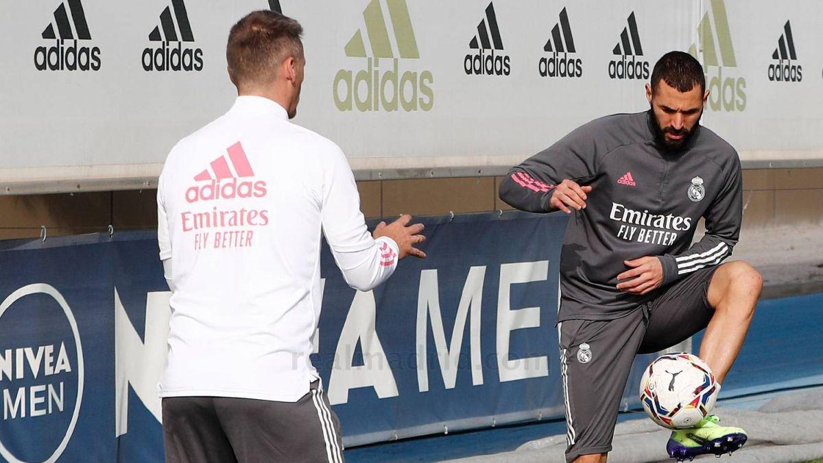 Бензема не відновив тренування у загальній групі – матч із Шахтарем за кілька днів