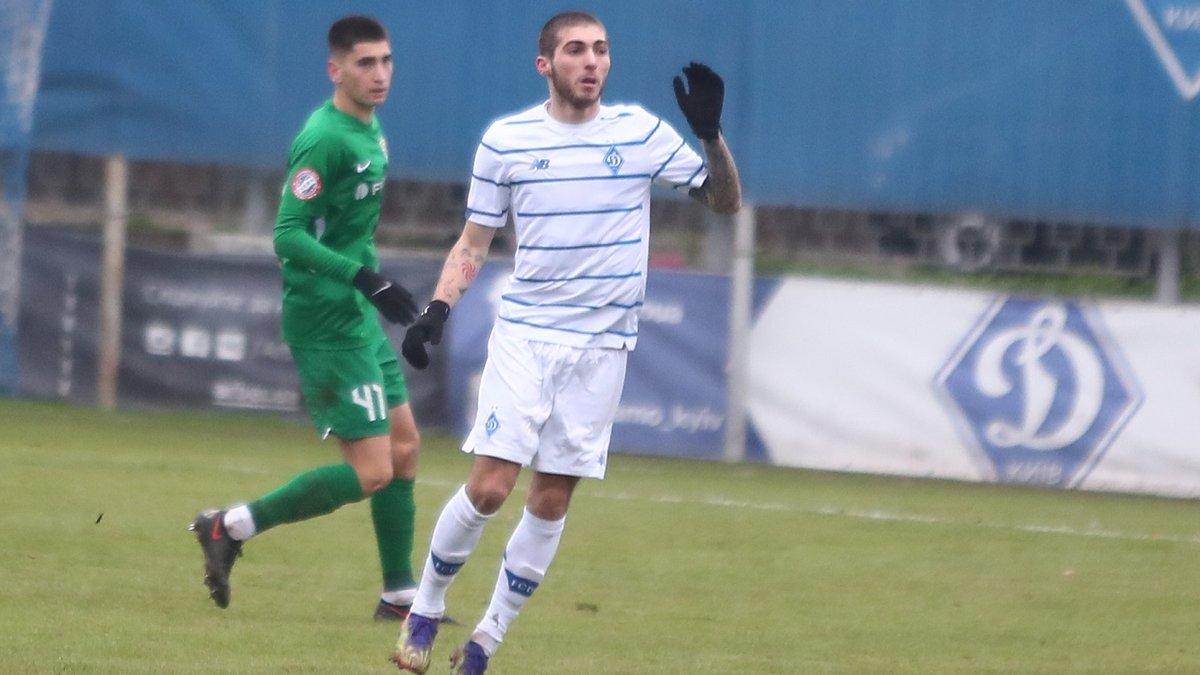 Цитаишвили провел матч за дубль Динамо – хавбек феерическим выступлением напомнил о себе Луческу