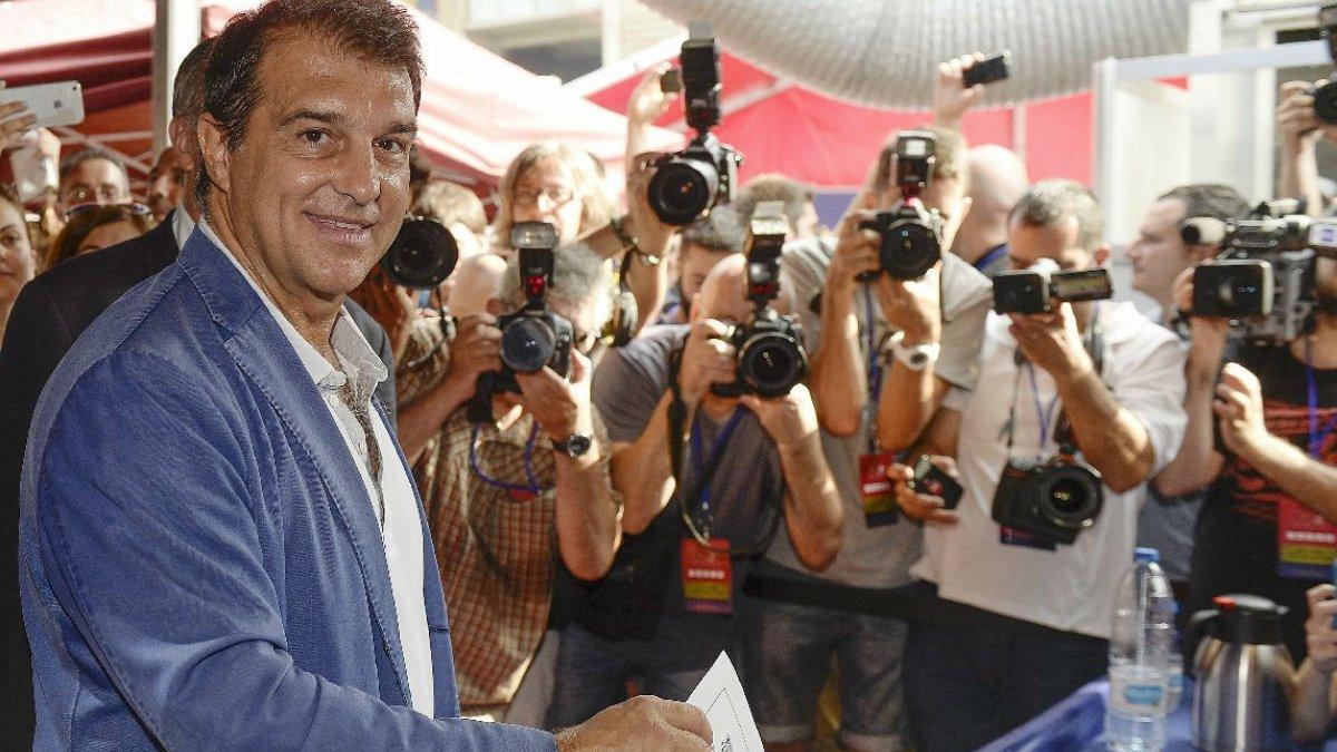 Лапорта балотується на посаду президента Барселони