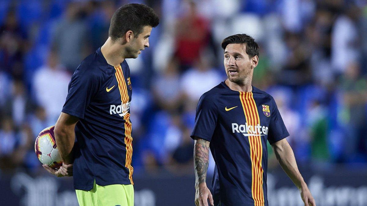 Піке: Чи залишиться Мессі в Барселоні? Потрібно запитати про це в нього