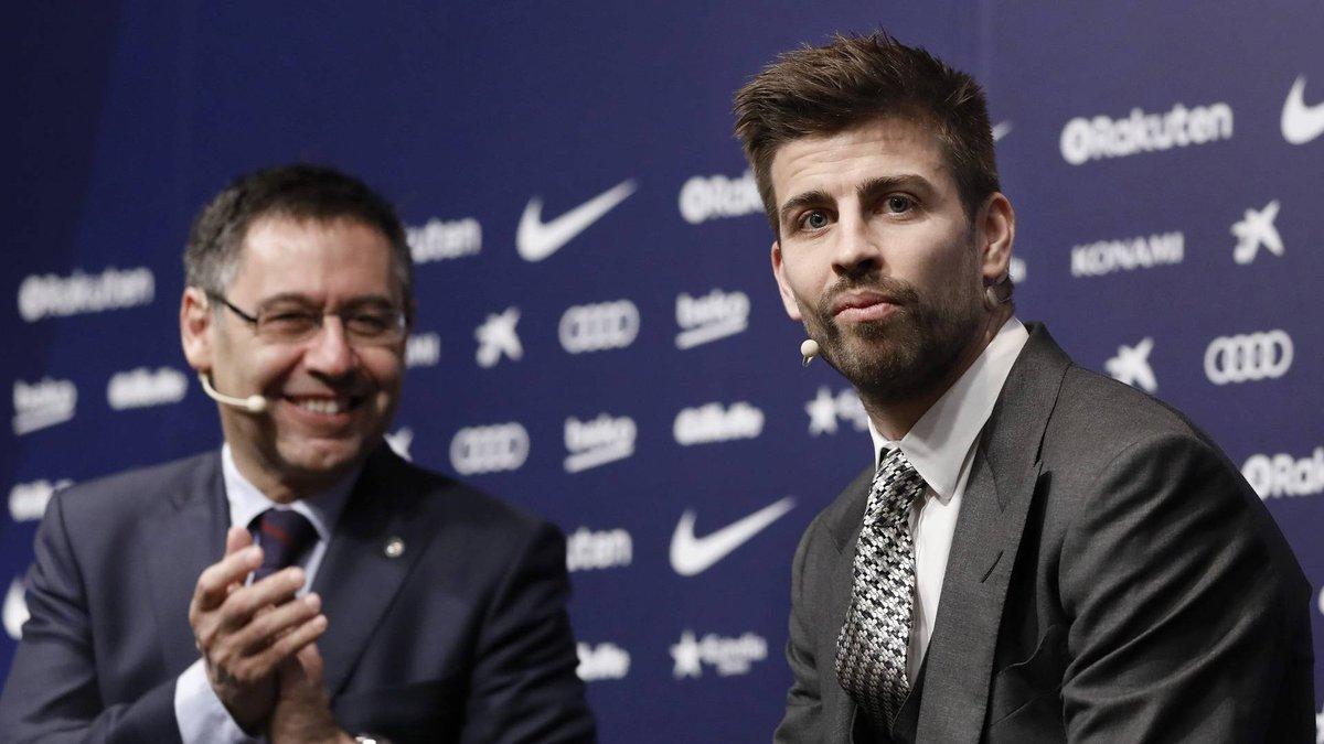 Піке: Я завжди мріяв стати президентом Барселони