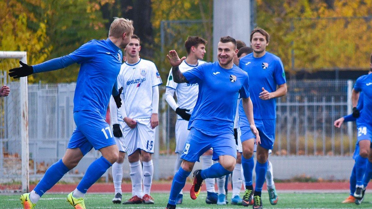 Вторая лига: Таврия-Симферополь уверенно одолела Никополь и закрепилась на 2-й строчке турнирной таблицы