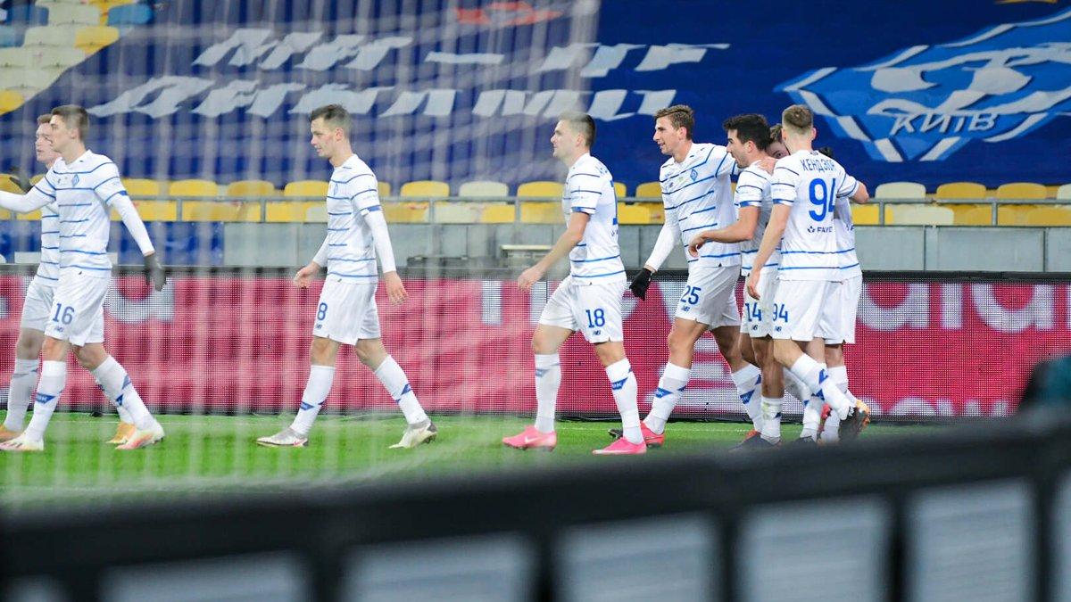Динамо одержало юбилейную победу в домашних матчах УПЛ