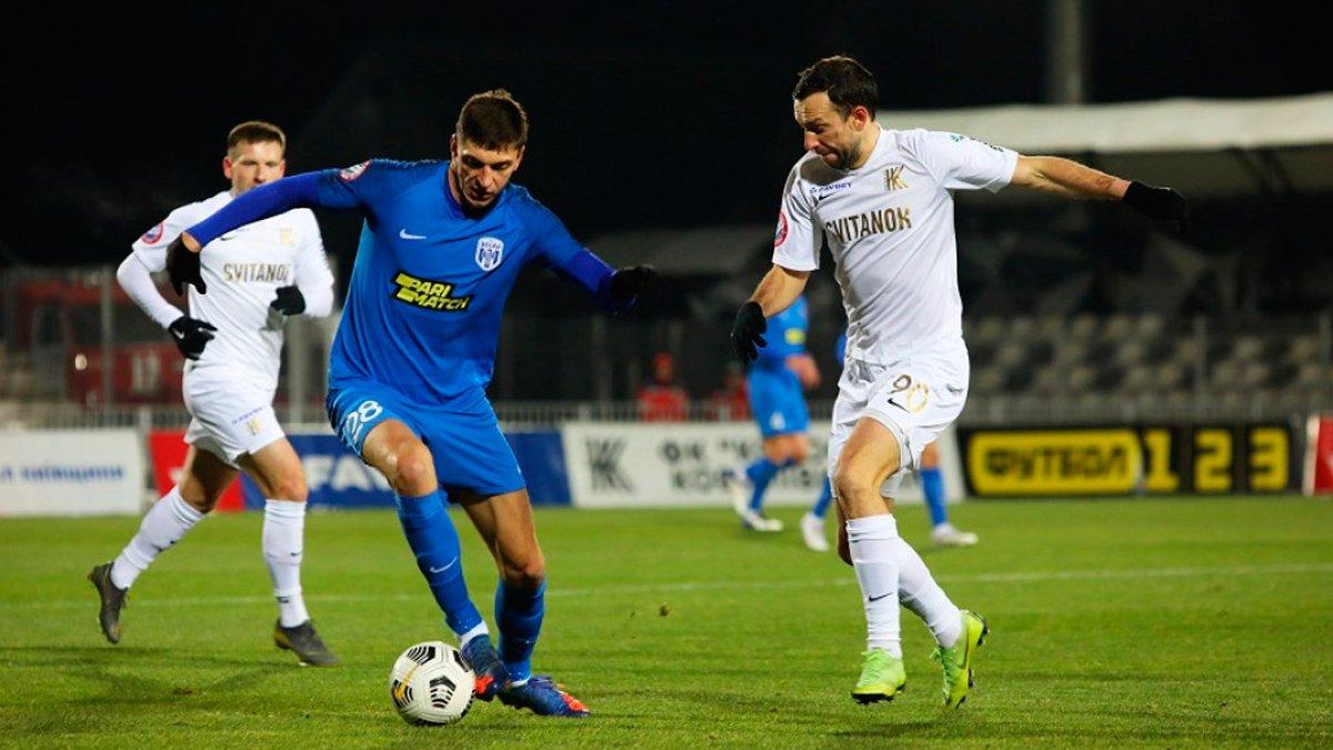 Колос і Десна не визначили переможця у матчі з двома пенальті