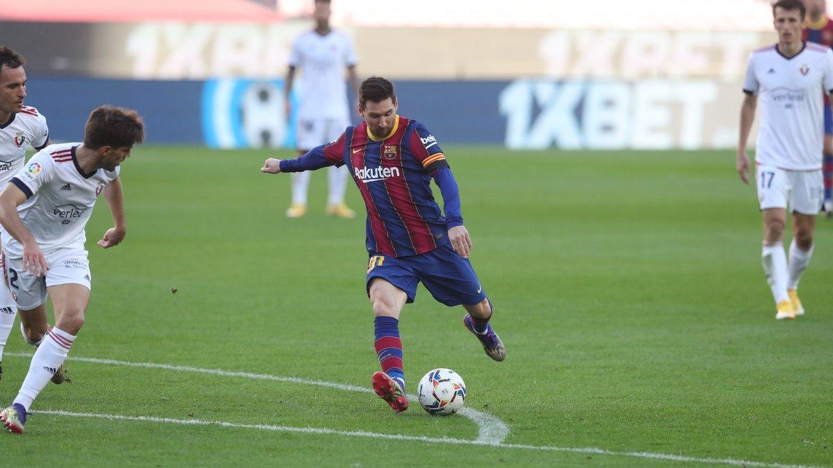 Пушка Гризманна и трогательный перфоманс Месси в видеообзоре матча Барселона – Осасуна – 4:0