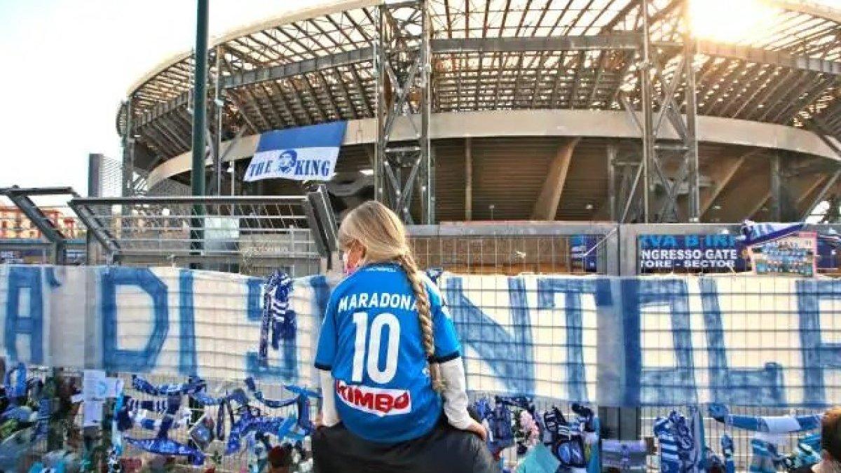 Стадион Наполи официально переименуют в честь Диего Марадоны