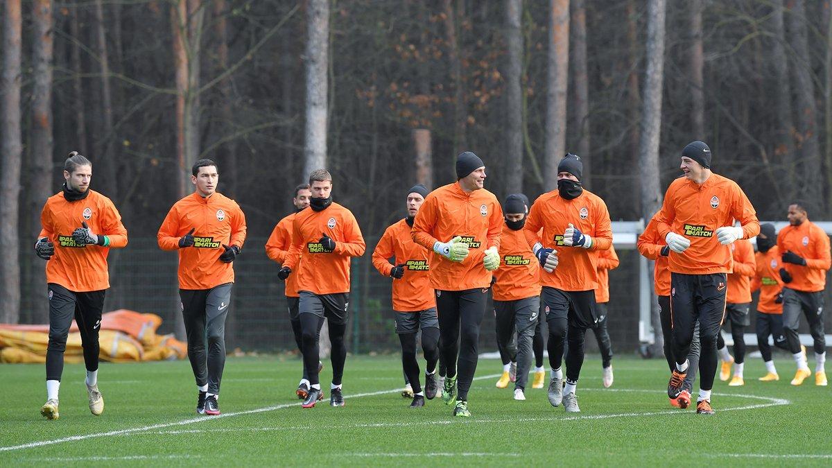 Шахтар тренується без 7 гравців перед матчем проти Реала в ЛЧ
