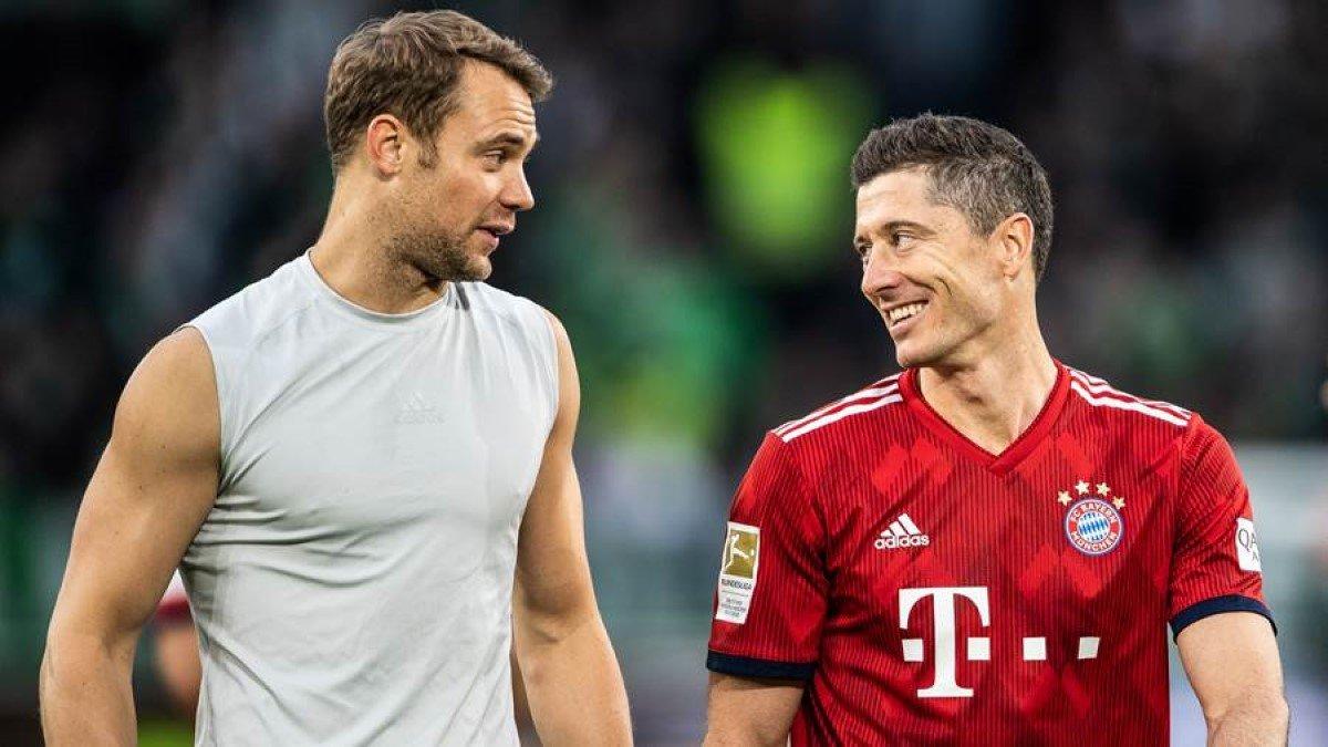 Бавария отправится на матч с Атлетико без Левандовски и еще трех звезд
