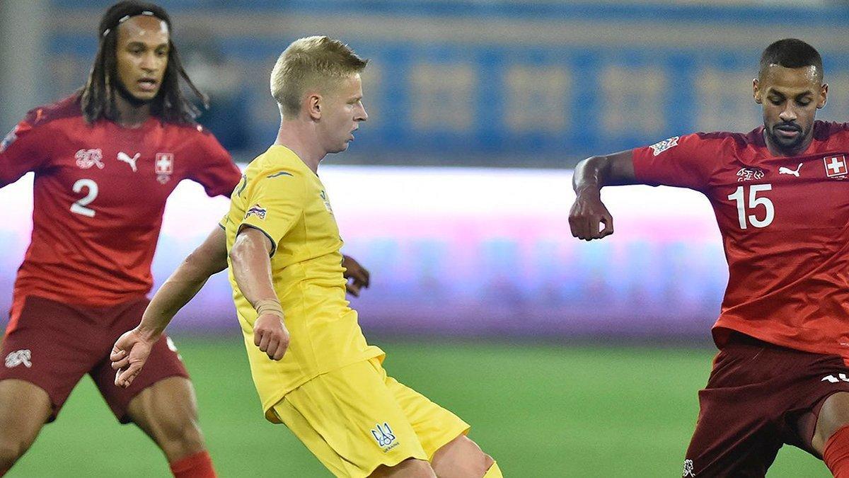 Швейцария – Украина: УАФ получила мотивационную часть решения УЕФА относительно матча Лиги наций