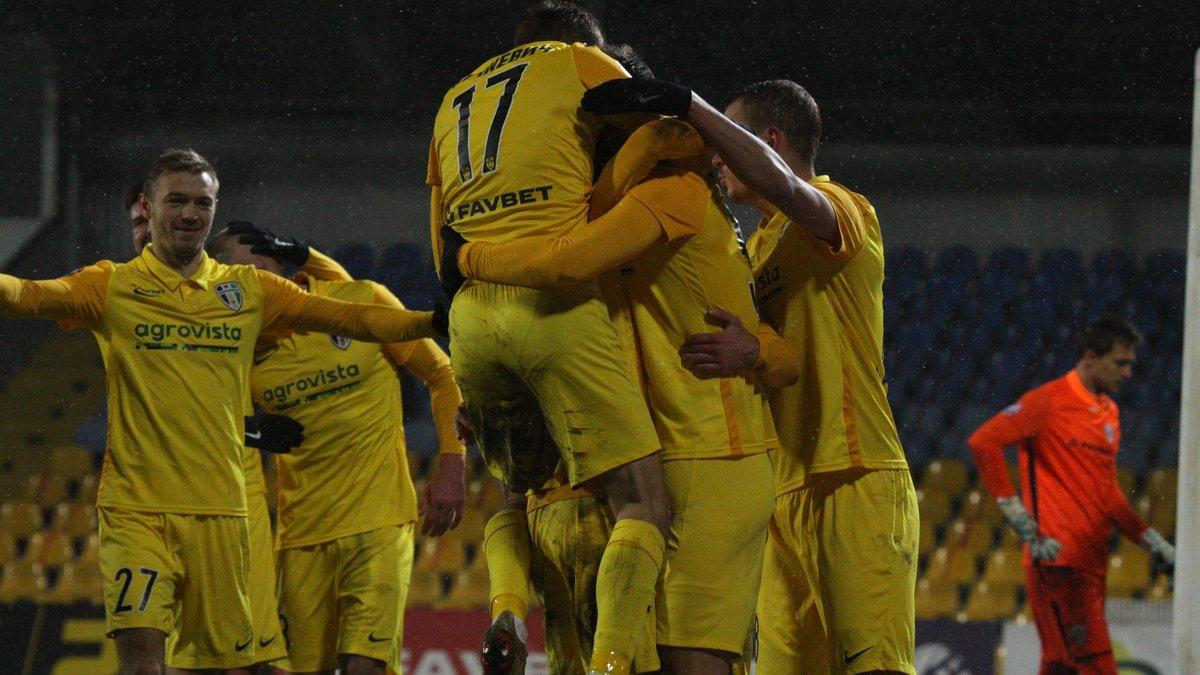 Кубок Украины, 1/8 финала: Ворскла и Мариуполь вылетели, Александрия переиграла Минай, разгромы от СК Днепр-1 и Колоса
