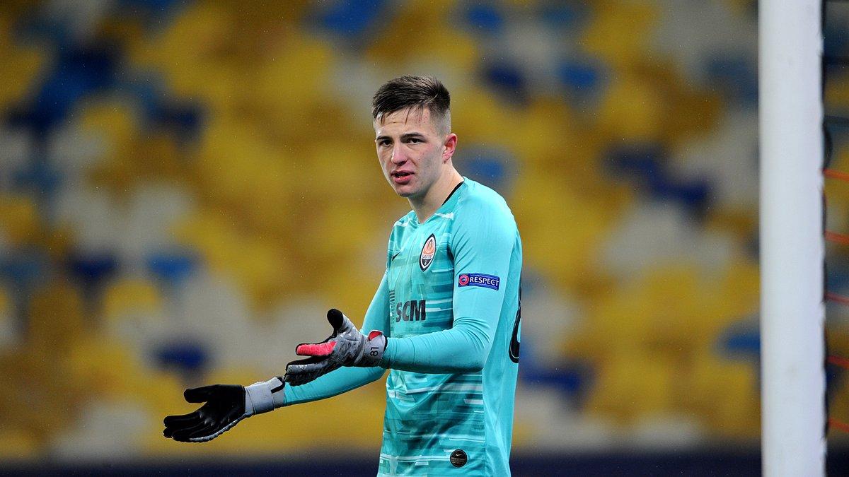 Трубин – о победе над Реалом: Шахтер сумел реабилитироваться после 0:10 от Боруссии М