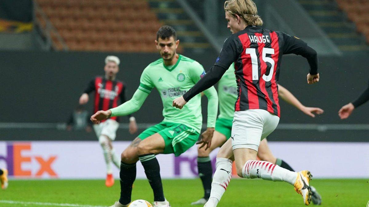 Лига Европы: Милан эффектным камбэком оформил выход из группы, Брага победила АЕК и лишила Зарю плей-офф