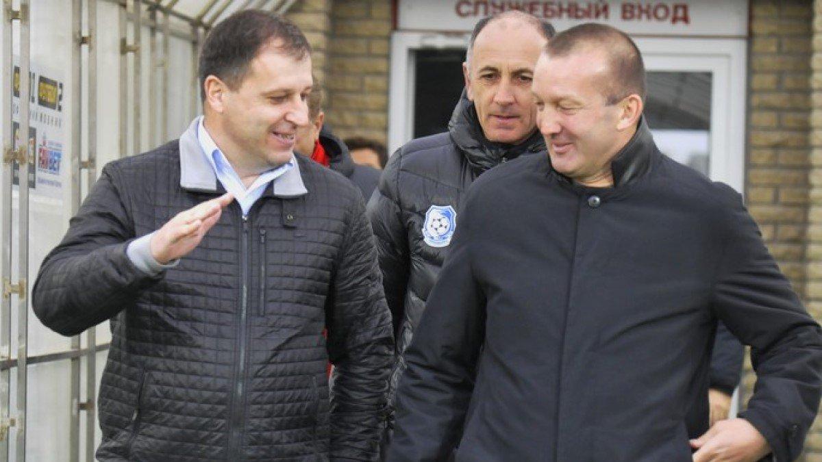 Григорчук: Після чемпіонства солігорського Шахтаря привітали з Вернидубом один одного