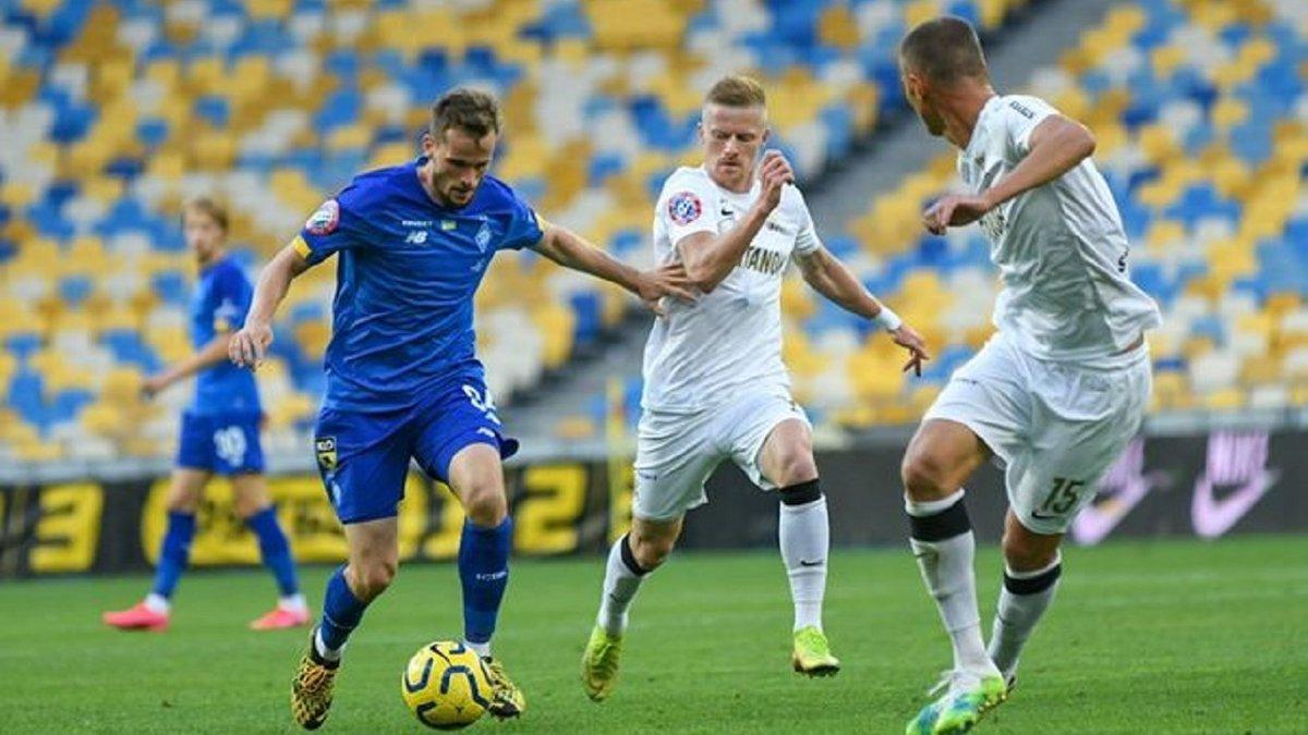 Динамо выбрало стадион имени Лобановского для последнего матча в 2020 году