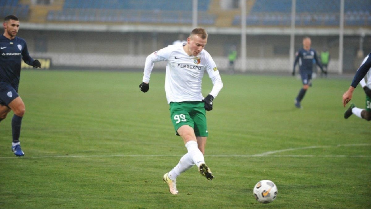 Два отменённых гола полтавчан в видеообзоре матча Ворскла – Минай – 1:1
