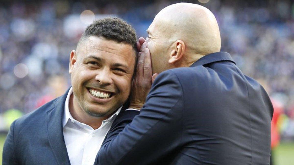 Зидан не дает покоя Роналдо – откровенное признание легендарного бразильца