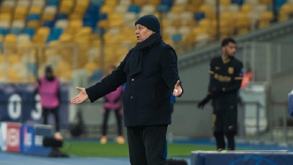 В КДК УАФ прокомментировали наказание Луческу в матче Динамо – Колос