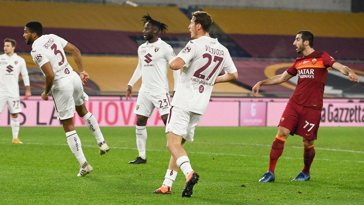 Парад пушечных ударов в видеообзоре матча Рома – Торино – 3:1