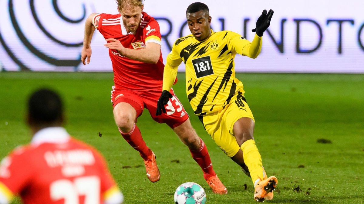 Дебютный гол рекордсмена Бундеслиги Мукоко не спас Боруссию Д от поражения Униону