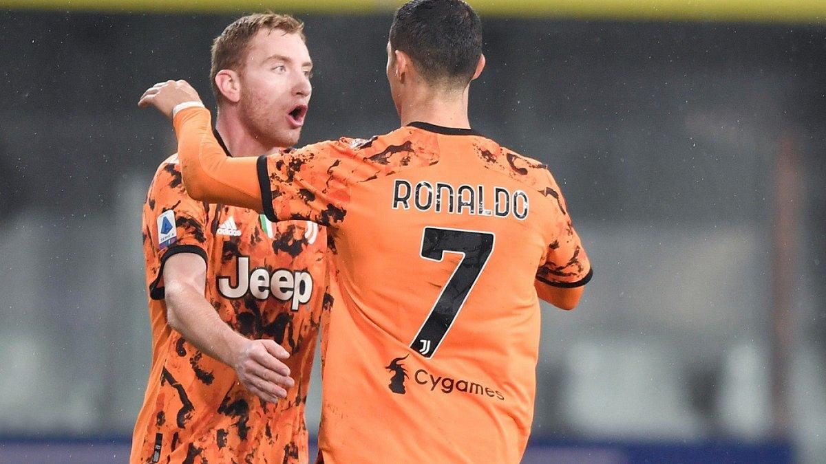 Ювентус благодаря дублю Роналду разгромил Парму, гол экс-динамовца не помог Вероне обыграть Фиорентину