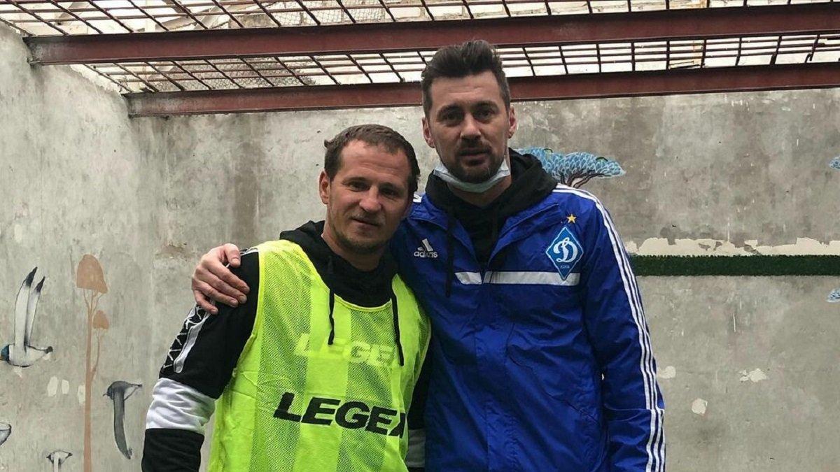 Алієв та Мілевський зіграли у футбол з неповнолітніми ув'язненими в Лук'янівському СІЗО