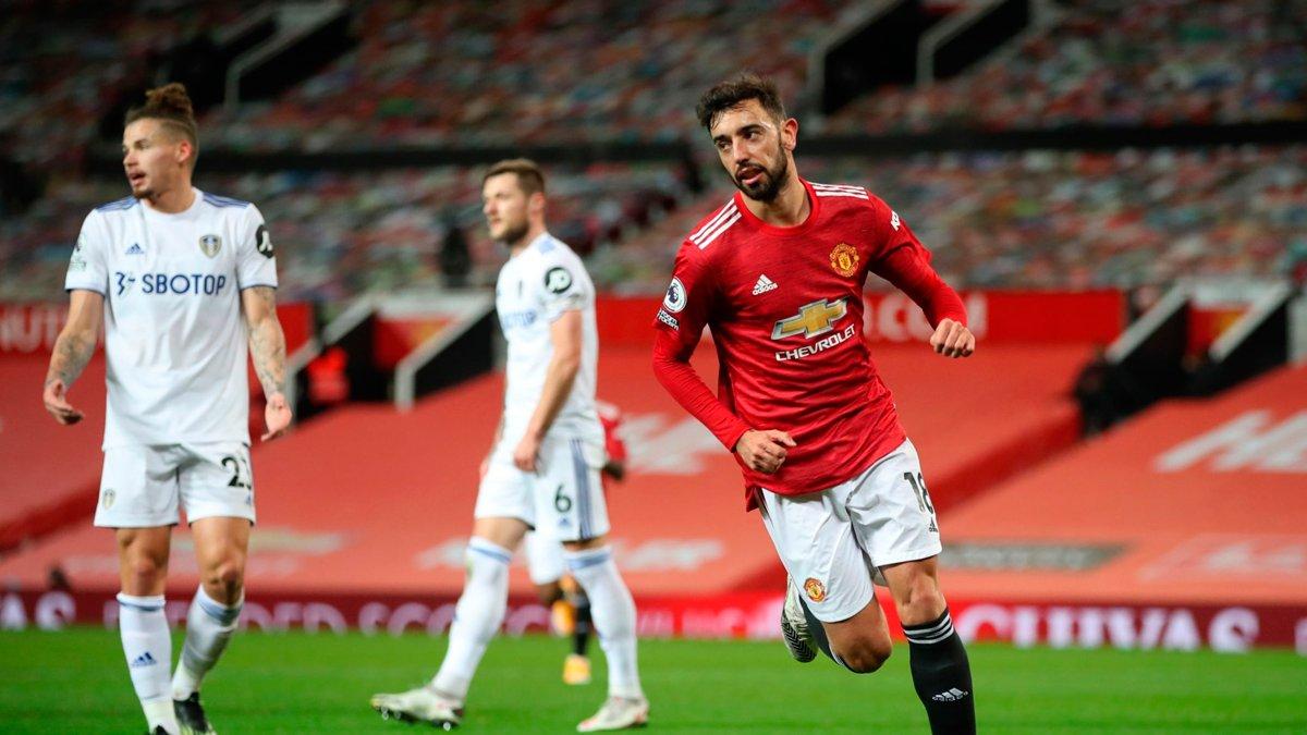 Манчестер Юнайтед познущався з Лідса, Астон Вілла розгромила Вест Бромвіч, Лестер здолав Тоттенхем