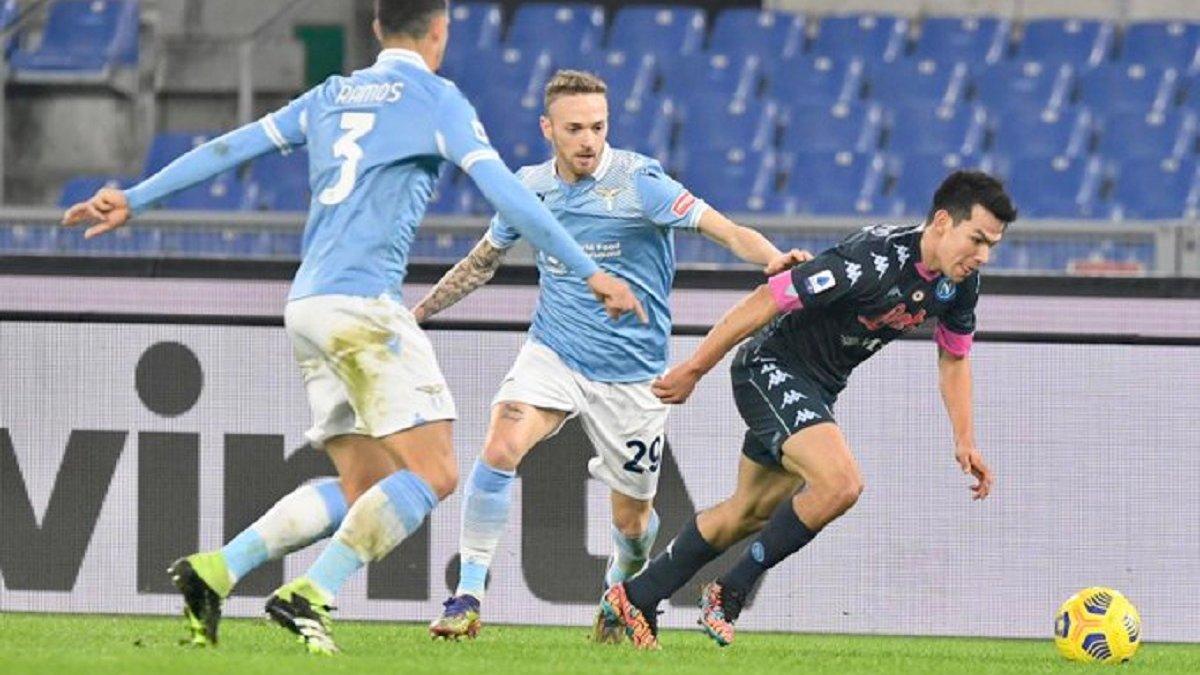 Лацио уверенно одолел Наполи, нанеся команде Гаттузо второе поражение подряд