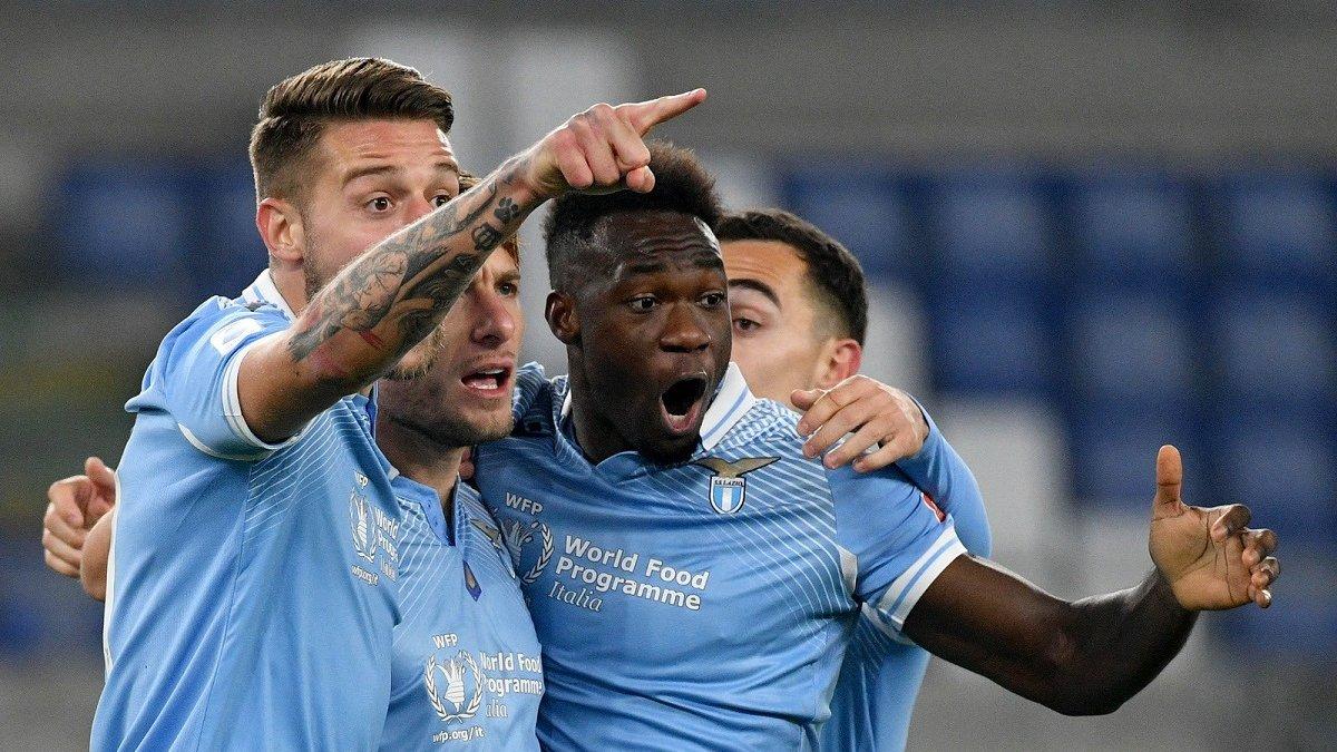 Краса Іммобіле та Альберто у відеоогляді матчу Лаціо – Наполі – 2:0