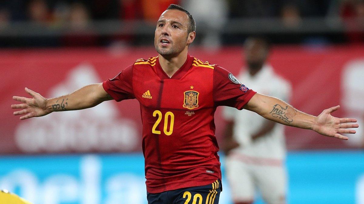 Касорла визнаний гравцем року у збірній Іспанії